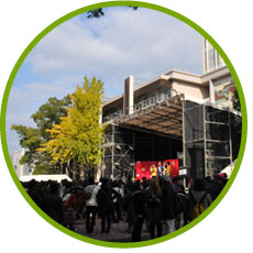 環境祭の風景