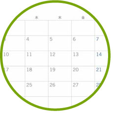 就職活動カレンダー