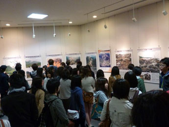 雲仙岳災害記念館を見学